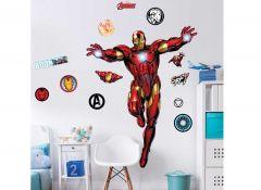 XL muursticker Iron man