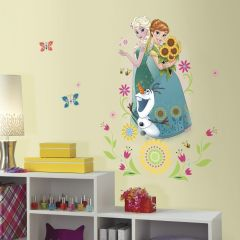 RoomMates muurstickers - Frozen Fever Group