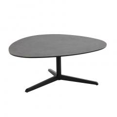 Salontafel Bartos 100x95 keramiek - zwart