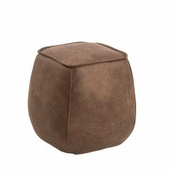 Poef Mirza 40x40 - bruin
