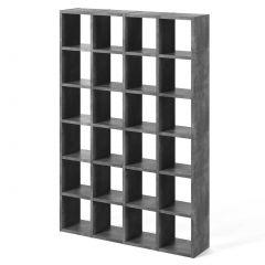 Boekenkast Pombal 24 vakken - beton
