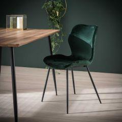 Set van 4 stoelen Vince - groen