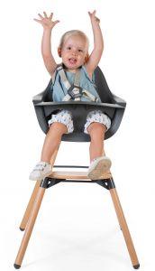 Kinderstoel Evolu 2 - naturel/antraciet