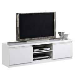 Tv-meubel Roma 150cm - hoogglans wit