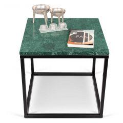 Bijzettafel Prairie - groen marmer/staal