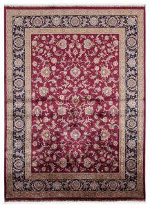 Vloerkleed Qoum Shah 2 Burgundy 230x160