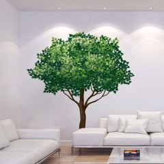 Reuze muursticker Tree