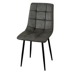 Set van 4 stoelen Elke - grijs