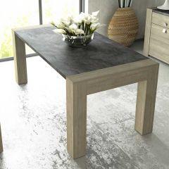 Eettafel Iris - grijs beton