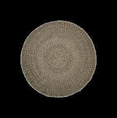 Vloerkleed - ø150 cm - raffia / zeegras - naturel