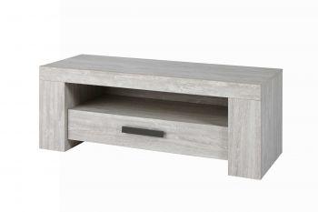 Tv-meubel Jacques 130cm - lichtgrijs