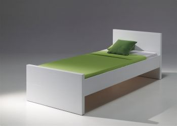 Kinderbed Lara wit 90x200 cm - Vipack Eenpersoonsbed
