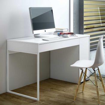 Bureau Prado 130cm - wit