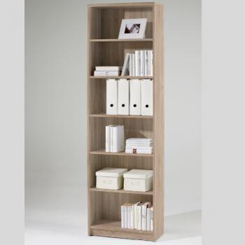 Boekenkast Brysse 60x202cm - eik
