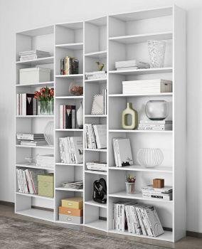 Boekenkast Varna model 3 - wit