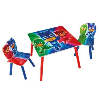 Kindertafel met stoeltjes PJ Masks