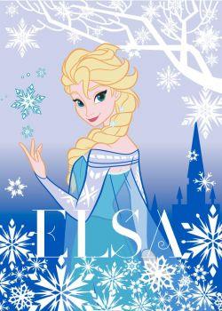 Tapijt Frozen Elsa