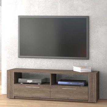 Tv-meubel Iris 155cm - bruin