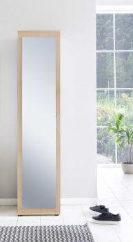 Kast Hidde met spiegeldeur - beuk