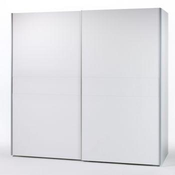 Kledingkast Wouter 215cm met 2 deuren - wit