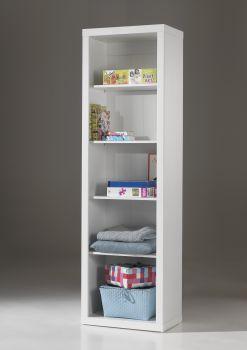 Boekenkast Robin wit met 5 vakken - 60cm breed