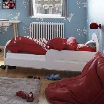 Peuterbed Gustaf 70x140 - wit