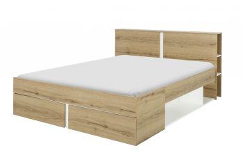 Bed Birger 140x200 - Helvezia eik