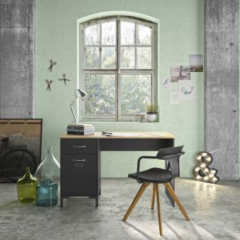 Bureau Manno 120cm - zwart