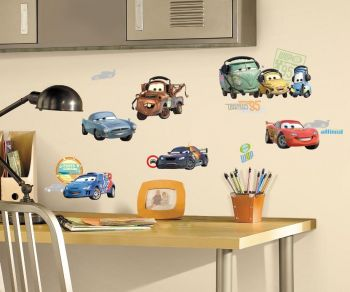 RoomMates muurstickers - Cars 2