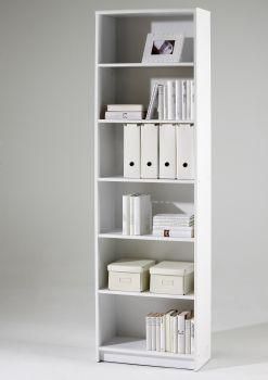 Boekenkast Brysse 60x202cm - wit
