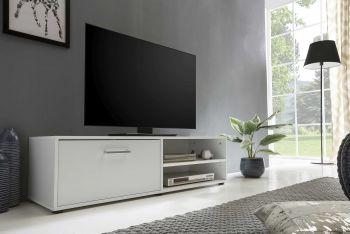 Tv-meubel Sami 1 deur 120cm - wit