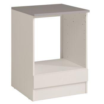 Onderkast Eko 60 cm voor oven en kookplaat - wit