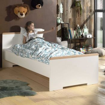 Bed London 90x200 - wit