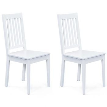 Set van 2 stoelen Westerland - wit