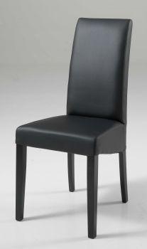 Set van 2 stoelen Roko - zwart