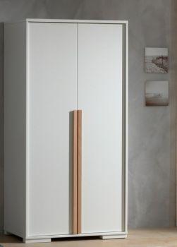 Kledingkast London 98cm met 2 deuren - wit
