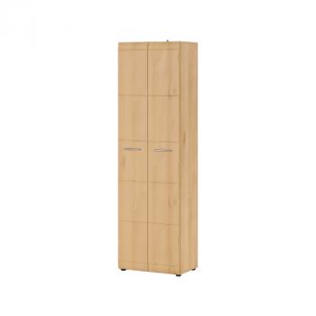 Garderobe Allan 59cm met 2 deuren - beuk