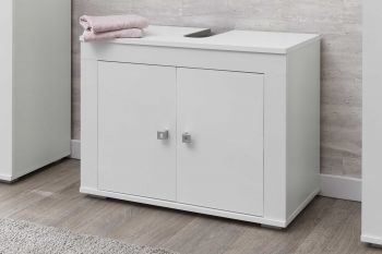 Wastafelonderkast Rutger 2 deuren - wit