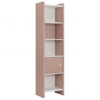 Boekenkast May roze/wit voor meisjes kinderkamer