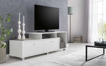Tv-meubel Marly 140cm - wit