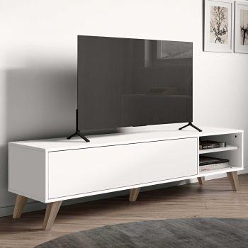 Tv-meubel Kim 165cm - wit