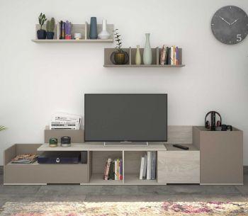 Tv-meubel Boost 180cm - grijs