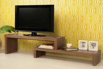 Tv-meubel Cliff 125cm - walnoot