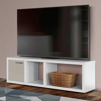Tv-meubel Berkeley 150cm - wit