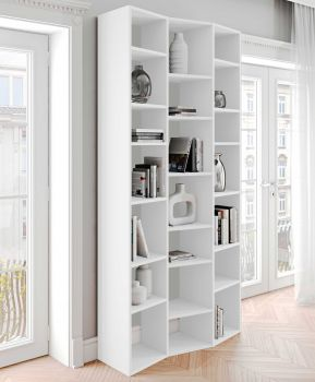 Boekenkast Varna model 7 - wit
