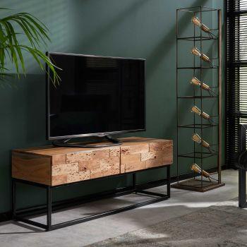 Tv-meubel Addison 2 lades - gezandstraald acacia