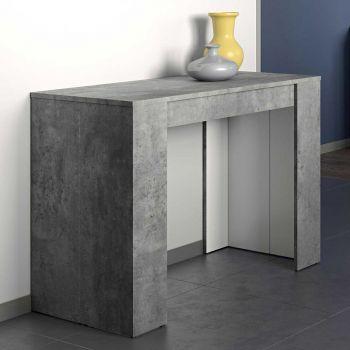 Verlengbare eettafel Elastic - beton