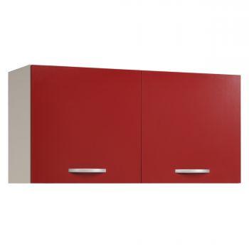 Bovenkast Eko 120 cm - rood