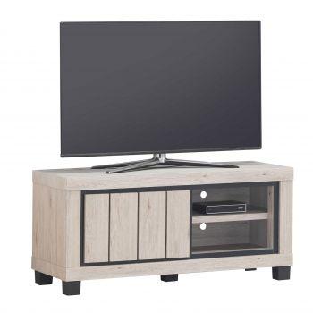 Tv-meubel Elke 120cm met 1 deur - eik