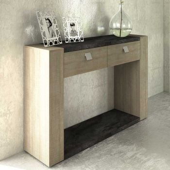 Sidetable Iris - grijs beton